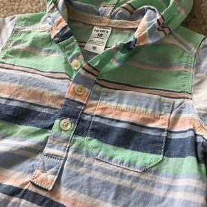 Carters Baby Boy Stripe Summer Shirt